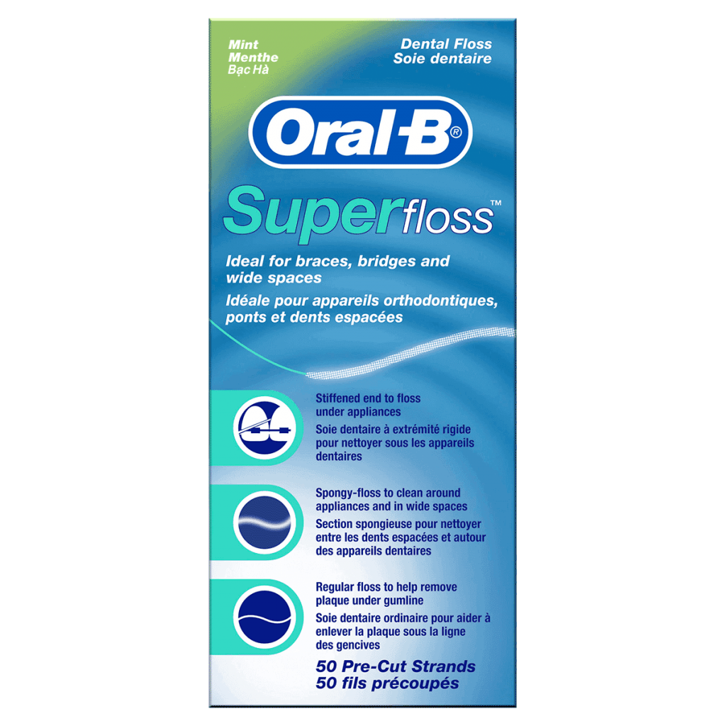 "Зуб.нить ""Oral-B"" Super Floss Regu"