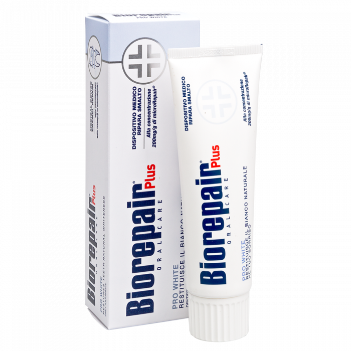 Зуб.паста Биорепейр/Biorepair Pro White Plus сохраняющая белизну, 75 мл